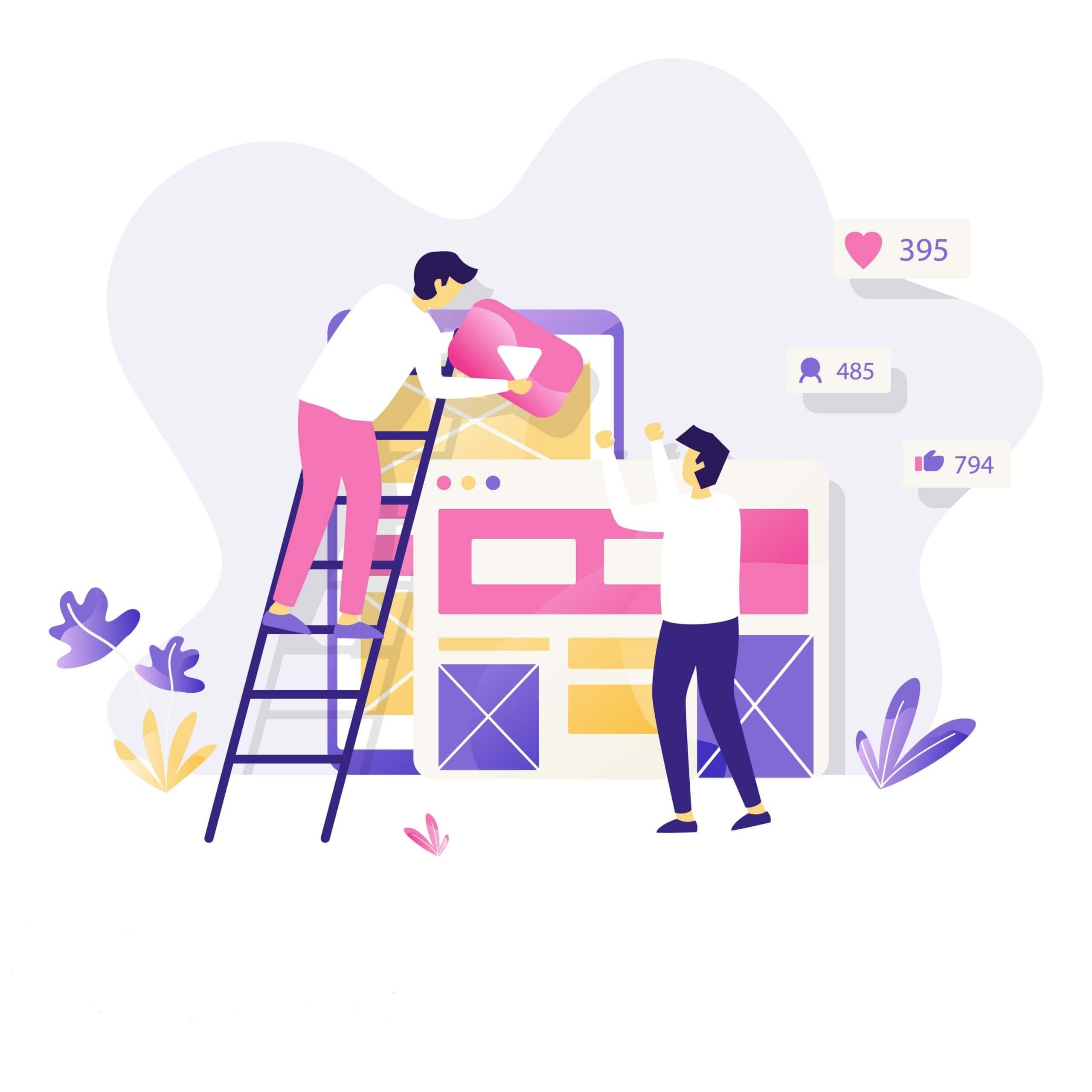 блог-дизайн
